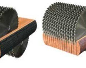 Двухвальные дисковые многопилы